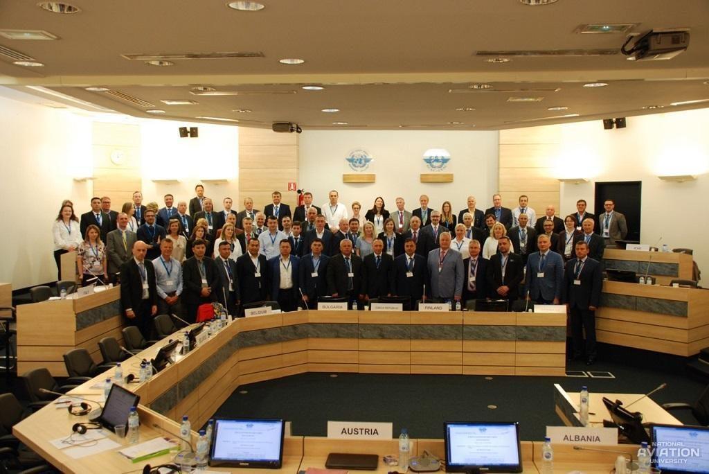 Сьома зустріч директорів ЄвропейськихПівнічноатлантичних регіональних центрів ІКАО
