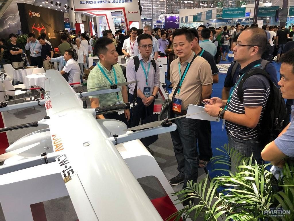 Results of NAU delegation's visit to PRC and participation in World Unmanned Aviation Congress