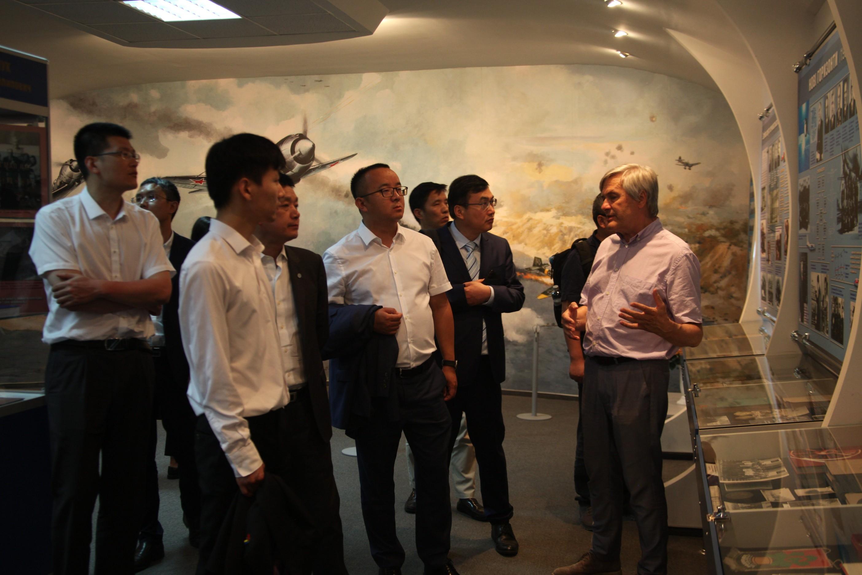 Delegation from China's Zhejiang province visits NAU