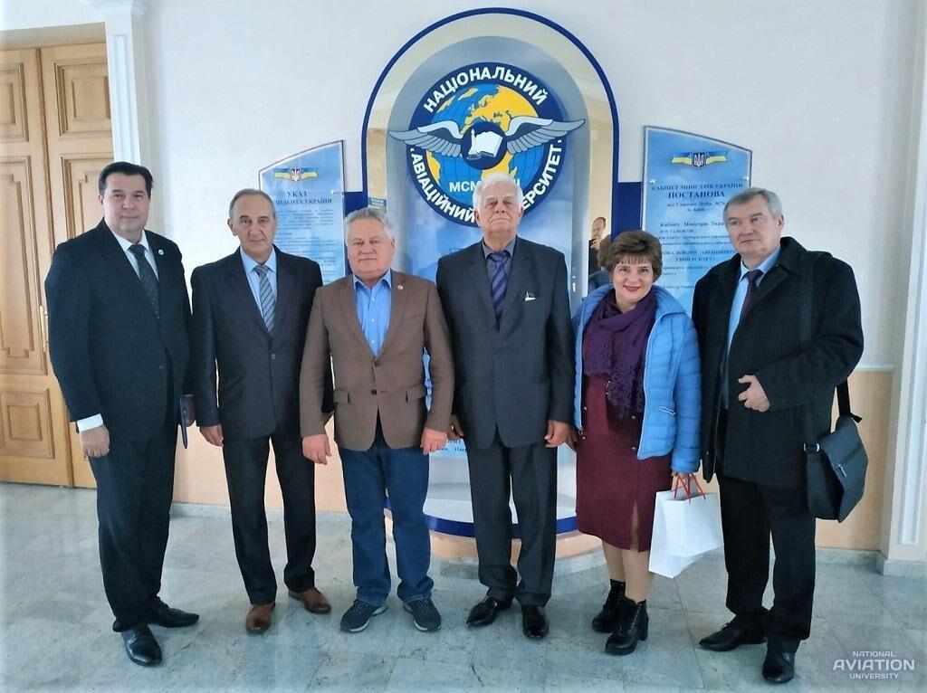 Delegation of International University of Logistics and Transport visits NAU