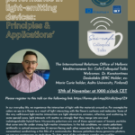 The University of the Middle East invites you to participate in the event