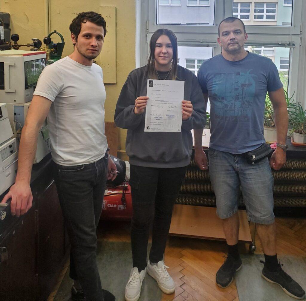 Студентка НАУ пройшла стажування в Лодзинському технічному університеті за програмою Erasmus+