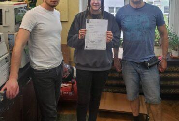 (Українська) Студентка НАУ пройшла стажування в Лодзинському технічному університеті за програмою Erasmus+