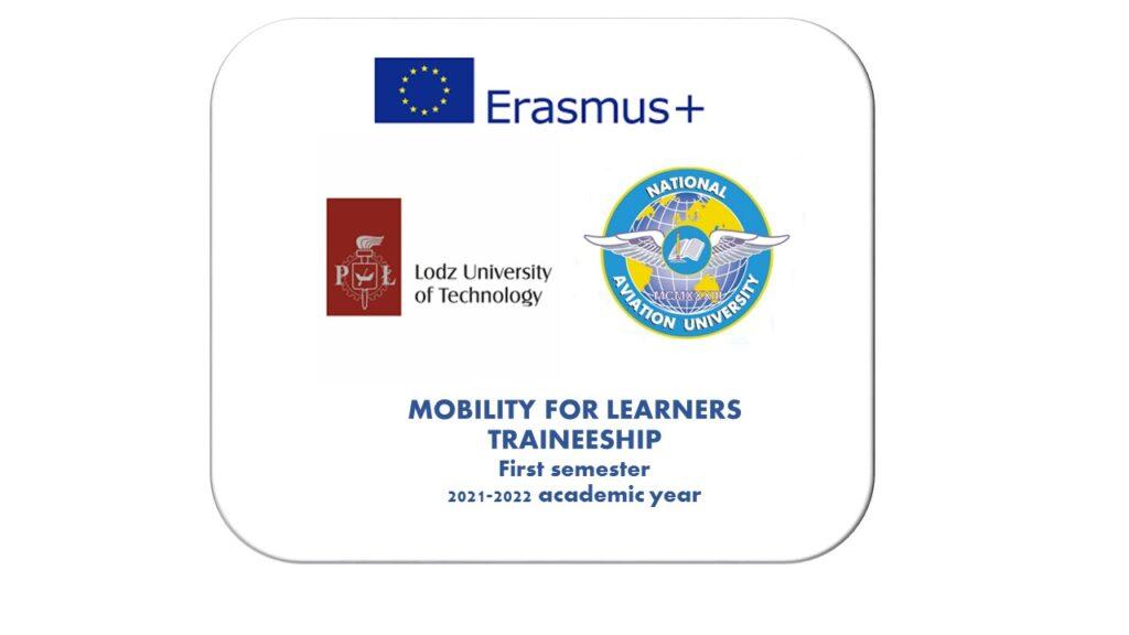 ERASMUS+ LODZ UNIVERSITY OF TECHNOLOGY