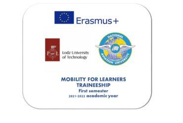(Українська) ERASMUS+ LODZ UNIVERSITY OF TECHNOLOGY