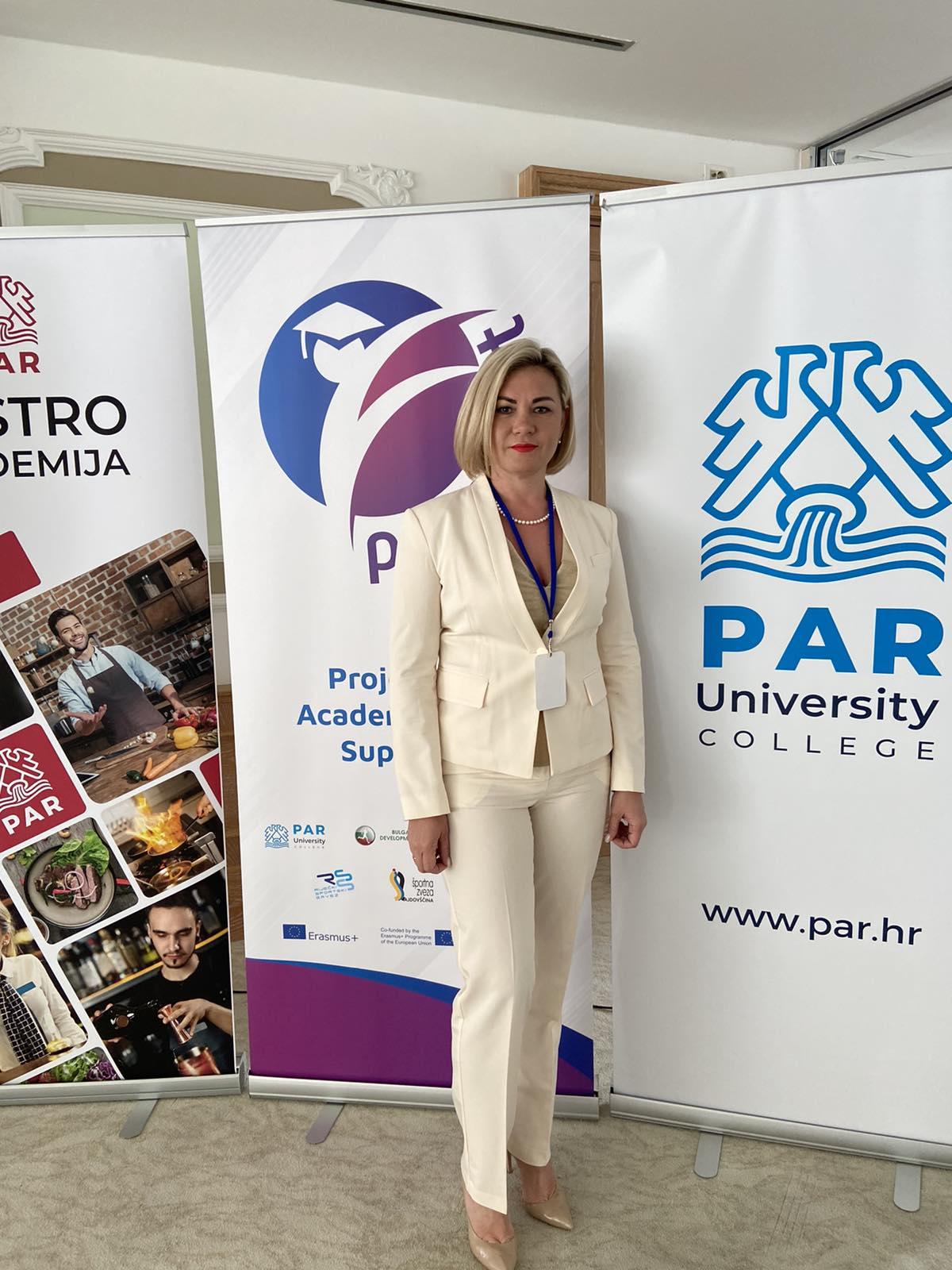 ERASMUS+ викладання в Бізнес школі PAR (Хорватія)